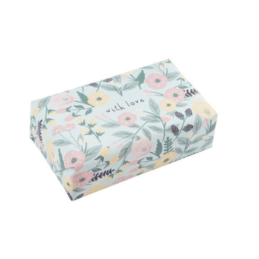 Floral Wrapped Soap - With Love