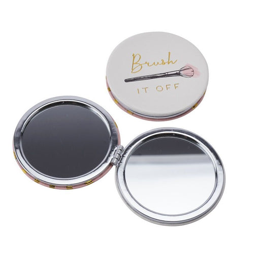 Blush 'Brush it Off' Compact Mirror