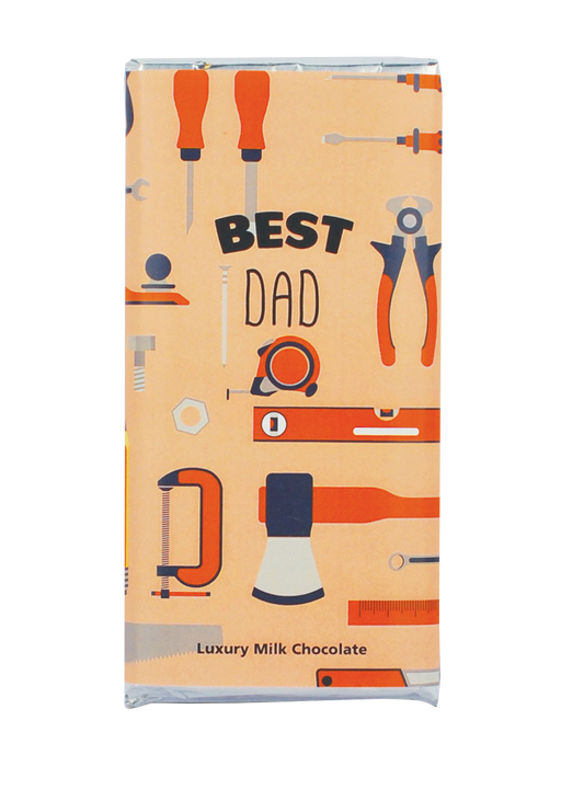 Best Dad Chocolate Bar