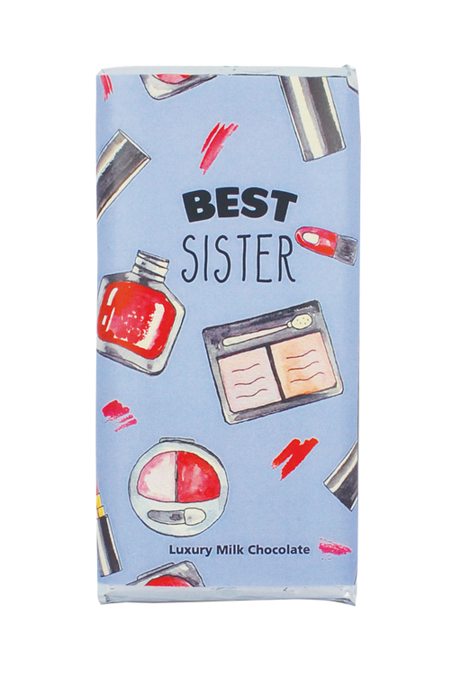 Best Sister Chocolate Bar