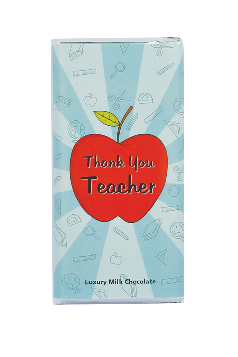 Thank You Teacher Chocolate Bar