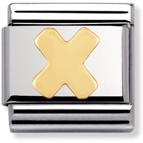 Nomination Classic Charm - Gold X
