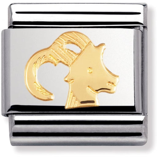 Nomination Classic Charm - Gold Capricorn