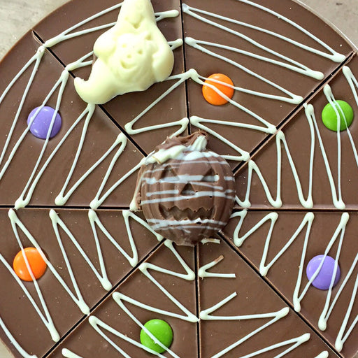 Halloween Chocolate Pizza