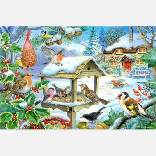 HOP Feed The Birds Big 250 Piece Jigsaw Puzzle