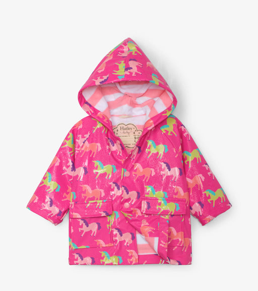 Hatley Mystical Unicorns Colour Changing Raincoat