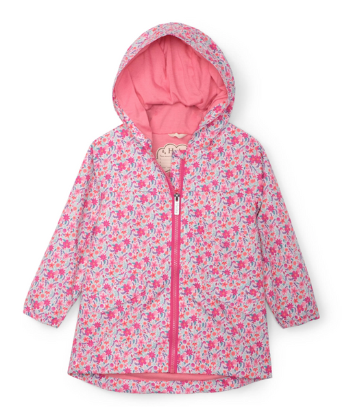 Hatley Summer Garden Ditsy Flower Raincoat