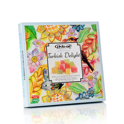 Ikbal Small Cut Assorted Fruit Turkish Delight