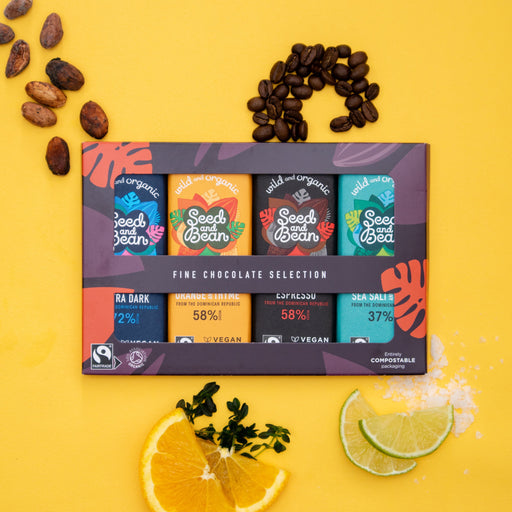 Seed & Bean Organic Mini Bar Gift Set