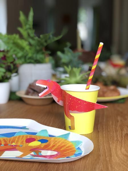 Talking Tables Party Dinosaur 250ml Cup - 12 Pack