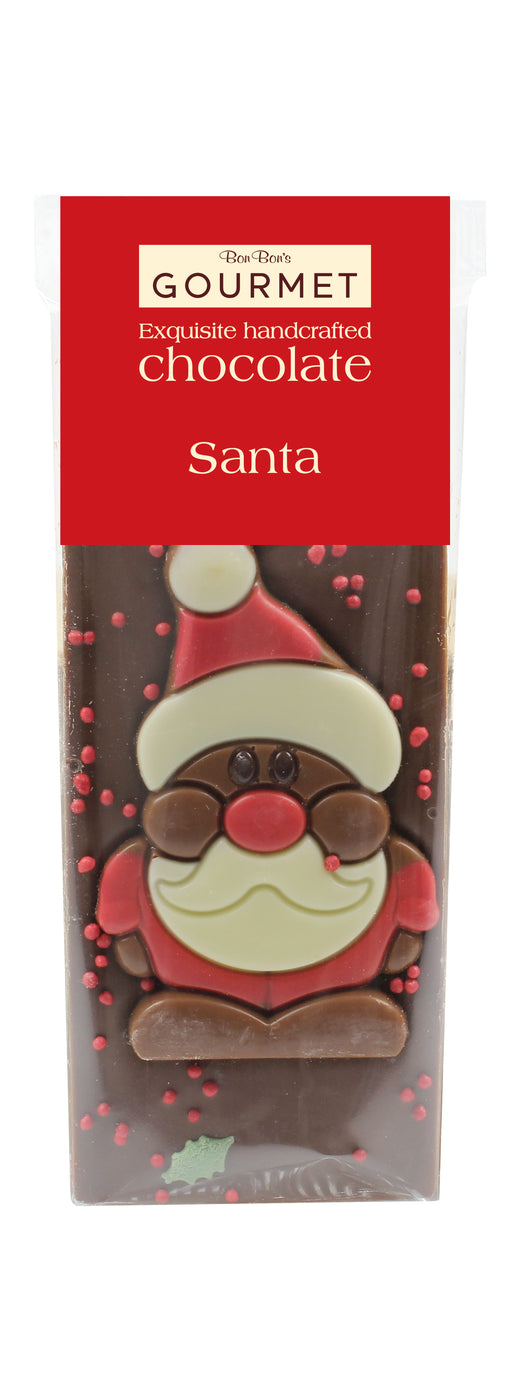 Bon Bons Milk Chocolate Santa Bar