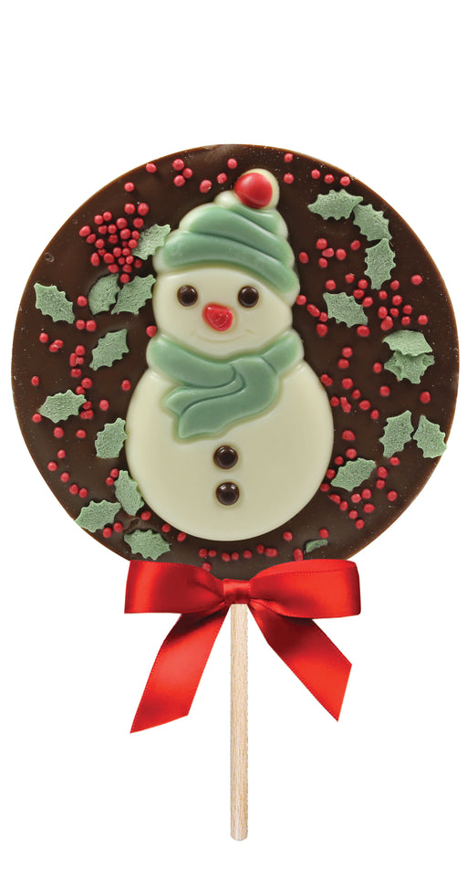Bon Bons Milk Chocolate Snowman Lolly