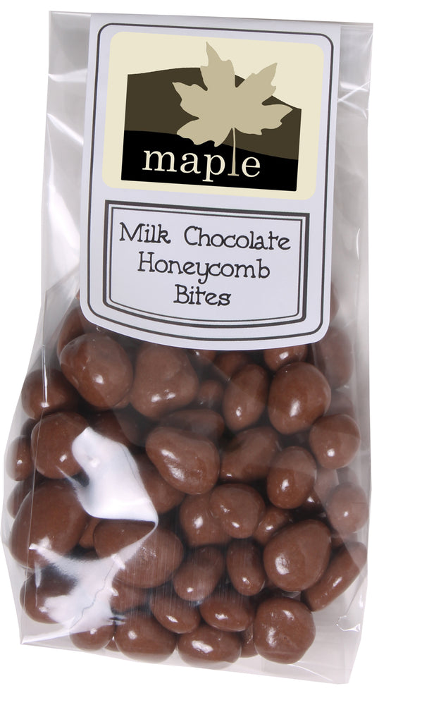 Milk Chocolate Honeycomb Bites