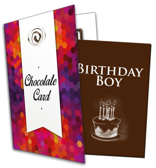 Birthday Boy Chocolate Card