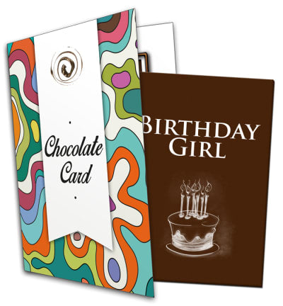 Birthday Girl Chocolate Card