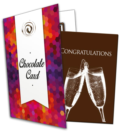 Congratulations Chocolate Card