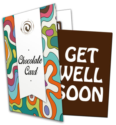 Get Well Soon Chocolate Card