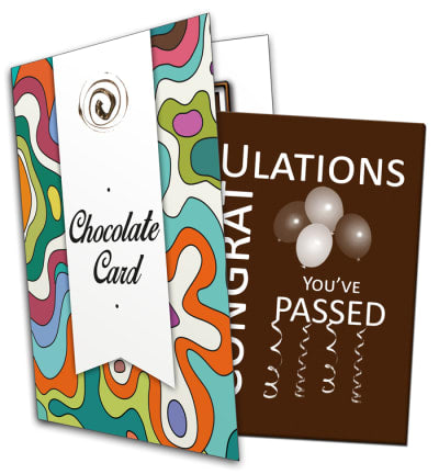 Congratulations, You've Passed Chocolate Card