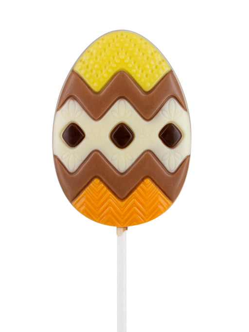Belfine Zig Zag Easter Egg Lollipop