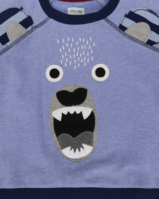 Lilly & Sid Bear Character Sweatshirt