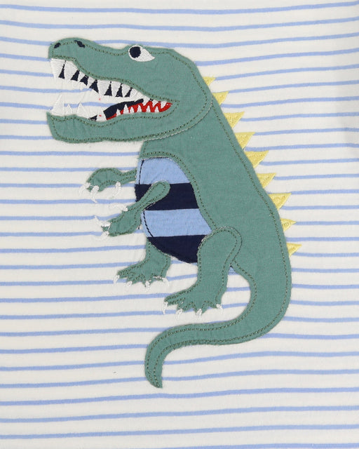 Lilly & Sid Dino Applique Top