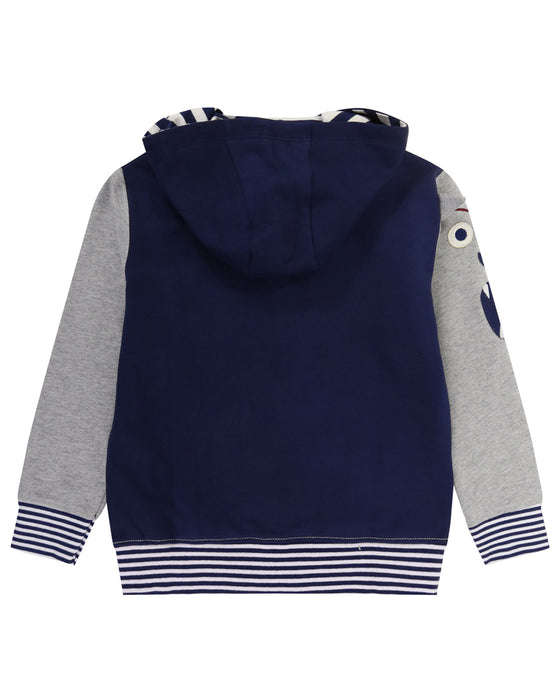 Lilly & Sid Character Sleeve Hoodie