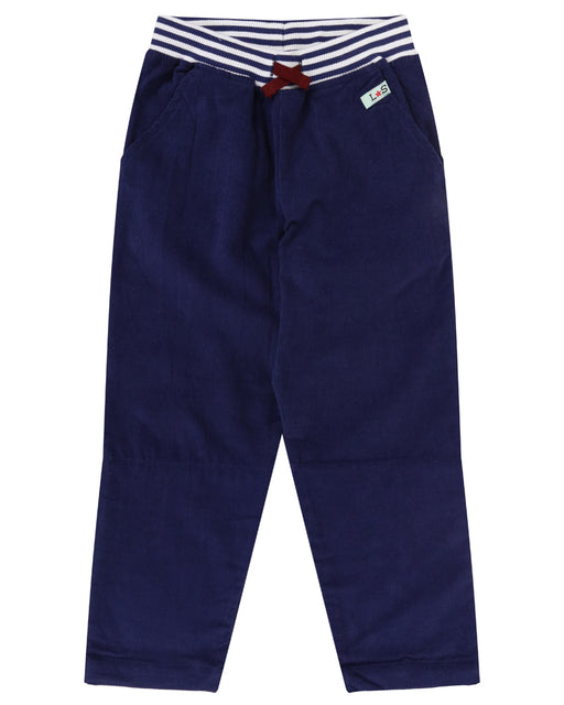 Lilly & Sid Navy Cord Trousers