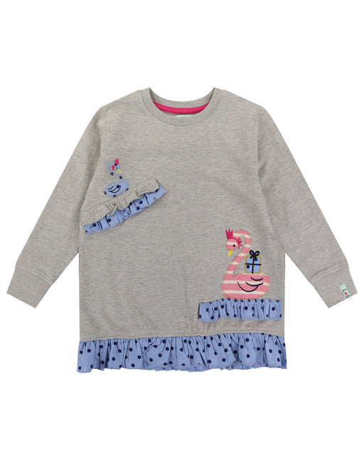 Lilly & Sid Swan Sweatshirt