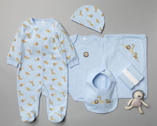 Lion 10 Piece Layette Set