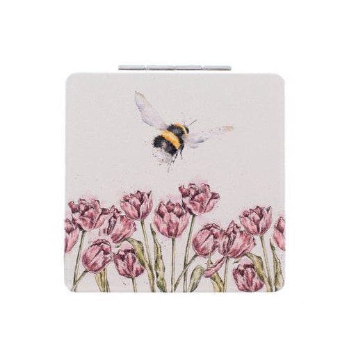 Wrendale 'Flight of the Bumblebee' compact mirror