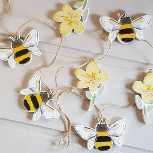 Gisela Graham Bee and Buttercup Decorative Garland