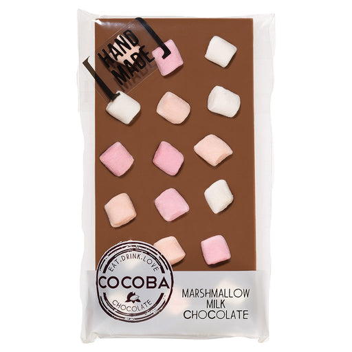 Cocoba Mini Marshmallows Milk Chocolate Bar