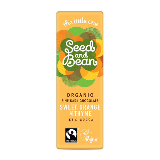Seed & Bean Sweet Orange & Thyme Mini Bar 25g