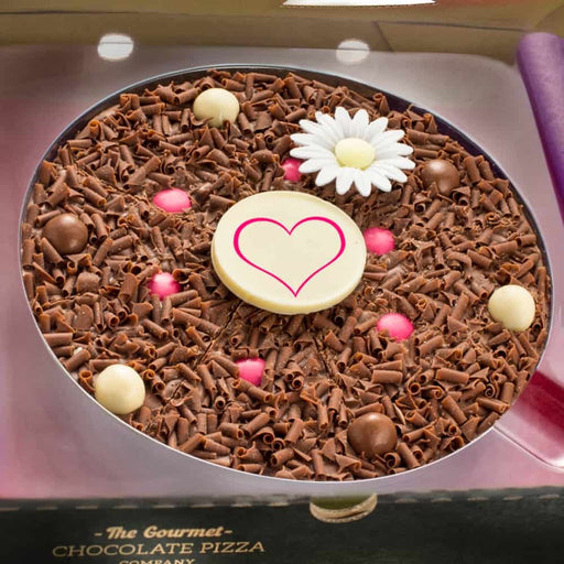 "Flower Chocolate 7"" Pizza"
