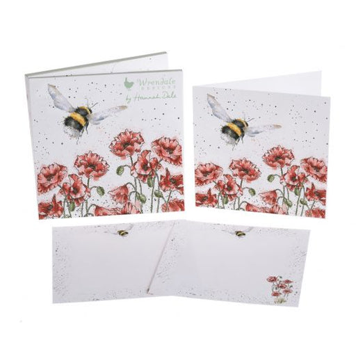 Wrendale Flight of the Bumblebee Notecard Pack