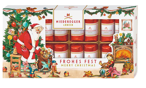 Niederegger Christmas Marzipan Classics Loaves in Dark Chocolate