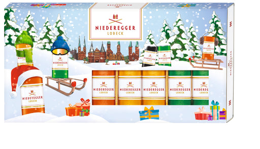 Niederegger Christmas Marzipan Classics Loaves Assortment