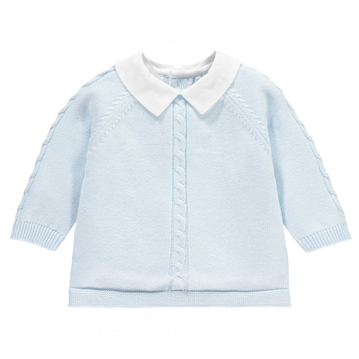 Emile et Rose Noah - Boys Knit Two Piece & Hat Outfit