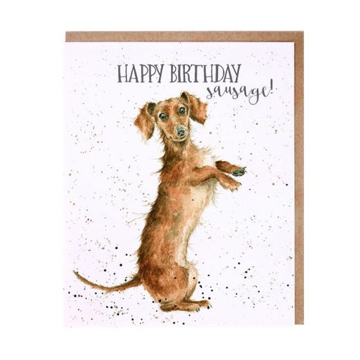 Wrendale 'Sausage' Birthday Card