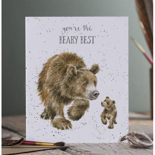 Wrendale 'Beary Best' card