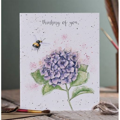 Wrendale Hydrangea Thinking of You Card