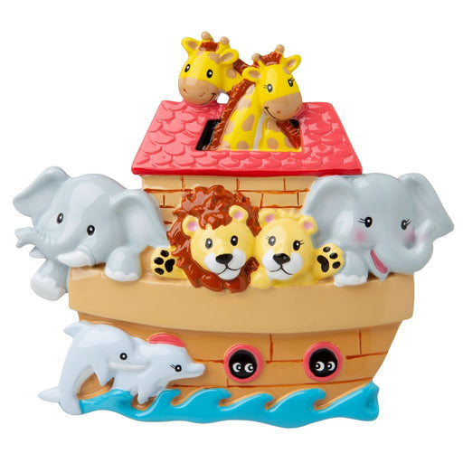 Noah's Ark Personalised Christmas Decoration