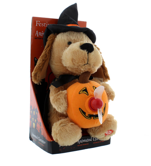 Halloween Boo Message Dog