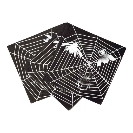 Talking Tables Halloween Skeleton Crew Web Napkin