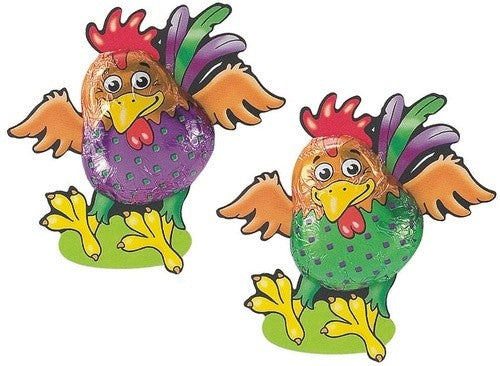 Milk Chocolate Crazy Roosters