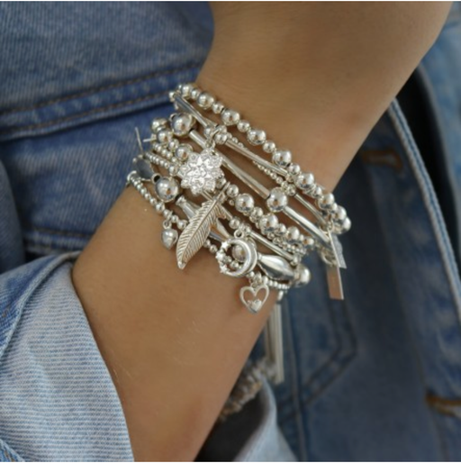Chlobo Mini Moon & Star Bracelet