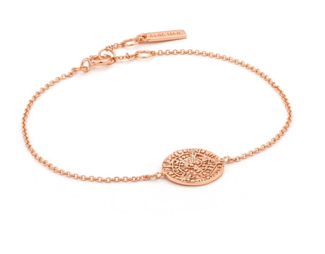 Ania Haie Ancient Minoan Rose Gold Bracelet