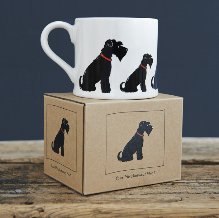 Sweet William Black Schnauzer Mug