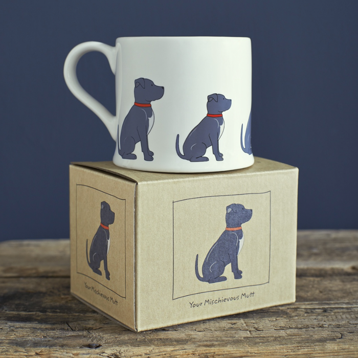Sweet William Staffie Mug