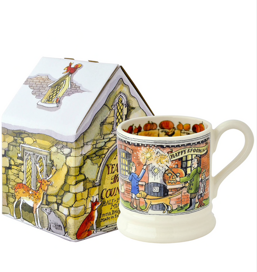 Emma Bridgewater Halloween 1/2 Pint Mug with Gift Box